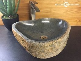mgalithic stone vessel sink - Stone Vessel Sinks