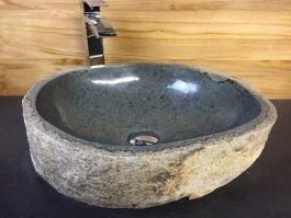 megalithic stone vessel sink - Stone Vessel Sinks