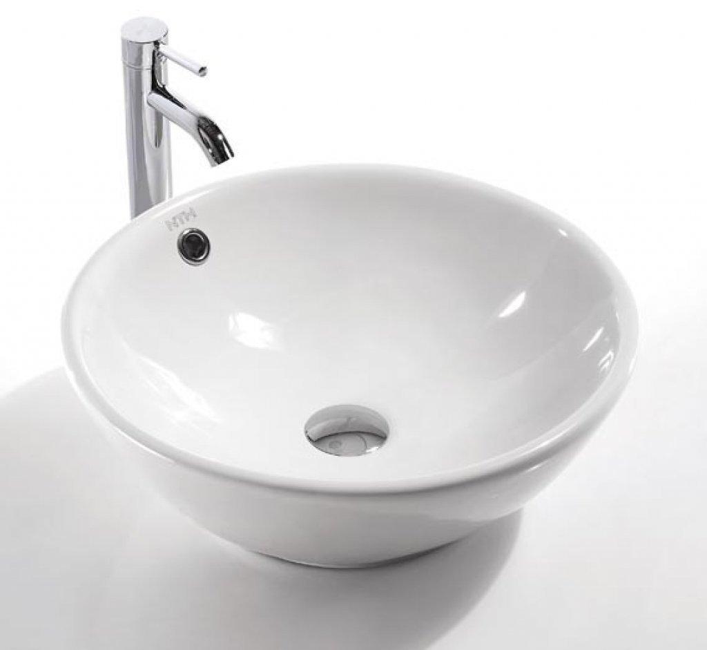 vasque en porcelaine Maia- Vasque-Lavabo en porcelaine (17u0027u0027x17u0027u0027x6,