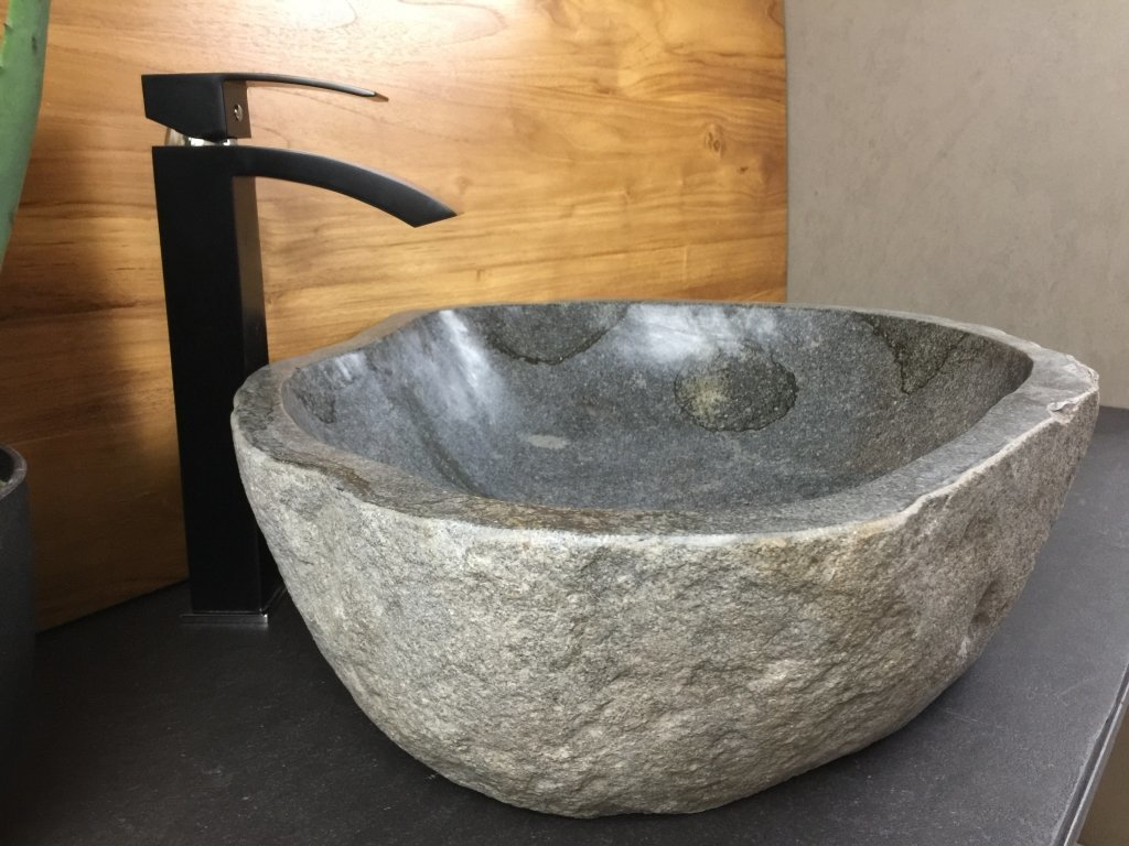 Delta #22044 River Stone Vessel Sink (21u0027u0027x19u0027u0027x6u0027